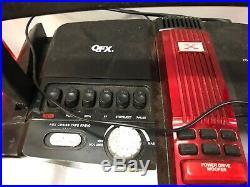 QFX Portable CD Cassette Player Jumbo Boombox Speaker System
