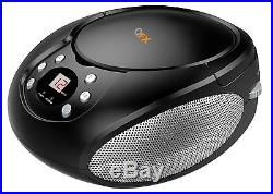 Qfx Bluetooth Streaming CD Player Boombox Fm Radio Aux-in Portable Ac/dc Battery