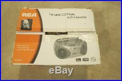 RCA RCD150 Portable CD AM FM Radio Cassette Boom Box BoomBox RcD 150