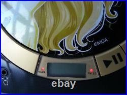 Rare Gold Bratz Portable Radio CD Player Boom Box + Power Adaptor Working Order
