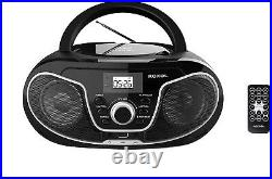 Roxel RCD-S70BT Portable Boombox CD Player with Bluetooth, Remote Control, FM