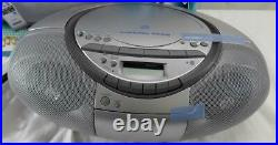 SONY CFD-S350 Portable AM/FM RADIO & CD Player & Cassette Player & Recorder