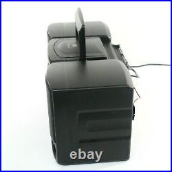 SONY CFD-Z130 Portable Boombox Bookshelf Stereo System AM FM CD Cassette Player