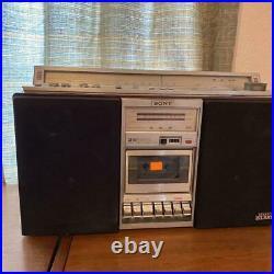 SONY CFS-V8 Boombox 3way speaker FM/AM Radio Cassette Recorder