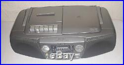 SONY LWithMWithFM CD Radio Cassette- Corder Player Boombox Portable Stereo CFD-V27L