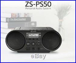 SONY Portable Radio MP3 CD Player USB Audio 80mm Full Range Stereo Speaker