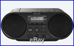 SONY Portable Radio MP3 CD Player USB Audio 80mm Full Range Stereo Speaker E n