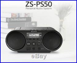 SONY Portable Radio MP3 CD Player USB Audio 80mm Full Range Stereo Speaker I g