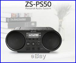 SONY Portable Radio MP3 CD Player USB Audio 80mm Full Range Stereo Speaker a c