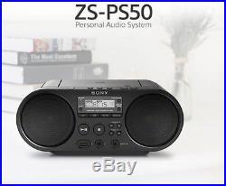 SONY Portable Radio MP3 CD Player USB Audio 80mm Full Range Stereo Speaker mo