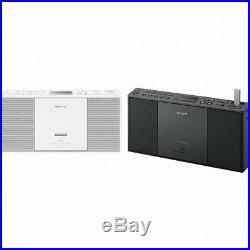 SONY ZS-PE60 CD Boom Box #White/Radio/Portable CD Player/Audio/Portable Audio/LC