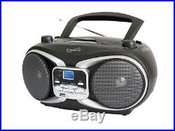SUPERSONIC SC-504 Portable Audio MP3/CD Player with USB/AUX Inputs & AM/FM Radio