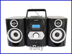 SUPERSONIC SC-806BT Portable MP3/CD Player AM/FM Radio +Bluetooth & USB/AUX