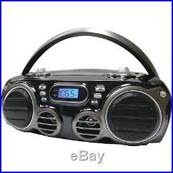 SYLVANIA Bluetooth Portable Cd Radio Boom Box With Am/fm Radio SRCD682BT