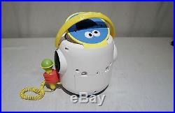 Sesame Street Portable BOOM BOX CD player with Sing-A-Long Karaoke Microphone