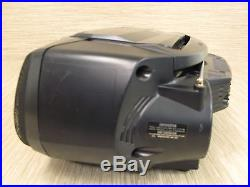 Sony Black CFD-G50 Boombox Portable CD Cassette Player Recorder Radio Stereo