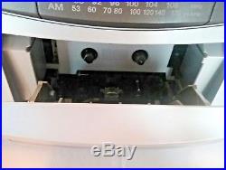 Sony Boombox Portable Cassette CD Player FM AM Stereo Radio CFD-Z500 ghettto vtg