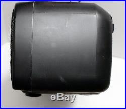 Sony CFD-50 Portable CD/AM-FM Radio Tuner/Cassette Player, Black