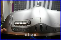 Sony CFD-F10 AM FM Radio Cassette Recorder CD Player Portable Stereo Boombox