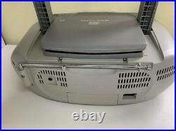 Sony CFD-S01 CD Player Boombox AM/FM Radio Cassette Portable Mega Bass