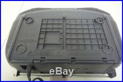 Sony CFD-S22 Portable CD/AM/FM Radio Cassette Tape Player Mega Bass Boombox