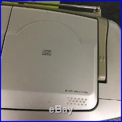 Sony CFD-S22L Portable CD Radio Cassette Player recorder Boombox Ghetto Blaster