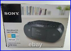 Sony CFD-S50 Portable Boombox AM/FM Stereo & CD MP3 Player Cassette Brand New