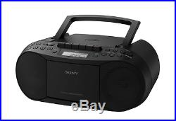 Sony CFD-S70 Portable CD/Cassette Player Boombox Stereo with Digital Am/Fm Radio