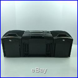 Sony CFD Z125 Boombox Radio, CD, & Cassette Player Portable 5. E4