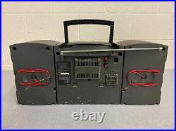 Sony CFD-Z125 Boombox Radio/CD/Cassette Player Portable Read Description