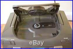 Sony CFD-ZW165 Portable AM/FM CD Cassette Rec Player Boombox Detachable Speakers