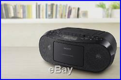 Sony CFDS50 Classic CD and Tape Boombox with Radio Black