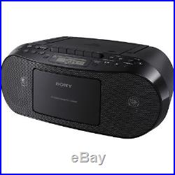 Sony CFDS50 Portable CD, Cassette Player and AM/FM Radio Boombox