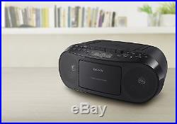 Sony CFDS50 Portable CD, Cassette Player and AM/FM Radio Boombox - New