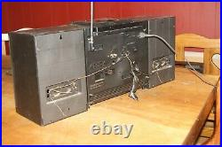 Sony Cfd-455 Stero Radio CD & Cassette Player Portable Boombox