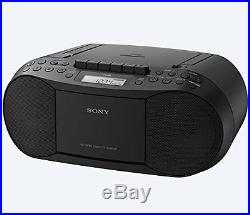 Sony Compact Portable Stereo Sound System Boombox with MP3 CD Player AM/FM Radio