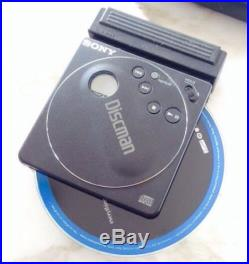 Sony Discman Cd Player D-88 Rare Plays 3 & 5 Discs, Original Box Boombox Era
