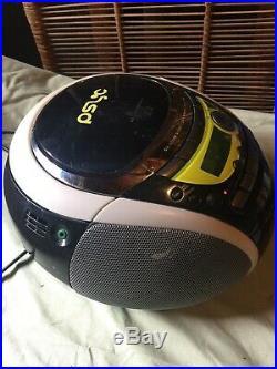 Sony Liv CFD-E90 AM FM Radio Cassette Recorder CD Player Portable Boombox Stereo