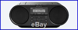 Sony Mega-bass Portable Stereo CD Player Boombox Am/fm Radio Bluetooth Zsrs60bt