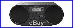 Sony Portable Boombox Stereo System MP3 CD Player, Radio, USB, Headphone & AUX I