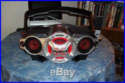 Sony Portable GhettoBlaster Xplod BoomBox CFD-G700CP This BoomBox is Awesome