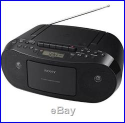 Sony Portable Stereo Boombox with MP3 CD Player, AM/FM Radio, Cassette