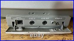 Sony ZS-D5 -Portable CD Radio Cassette Player Ghetto Blaster Boombox