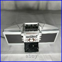 Sony ZS-D55 Portable Boombox Stereo CD Cassette Player AM/FM Radio TESTED