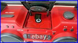 Sony ZS-H10CP Portable Heavy Duty CD Player Radio AUX Boom Box