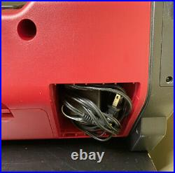 Sony ZS-H10CP Portable Heavy Duty CD Player Radio AUX Boom Box Nice