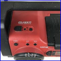 Sony ZS-H10CP Portable Heavy Duty CD Player Radio AUX Boom Box Original Cord