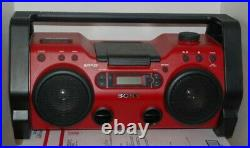 Sony ZS-H10CP Portable Heavy Duty CD Player Radio AUX Boom Box Works Great