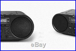 Sony ZS-PS50 Portable Audio CD Player Boombox USB MP3 AM FM Radio