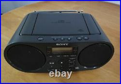 Sony ZS-PS55B Portable Stereo (Digital Audio Broadcast, CD Player, MP3,) BLACK